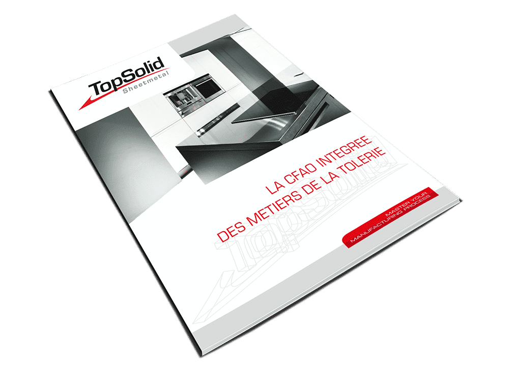 TopSolid brochure 8 pages Sheet Metal