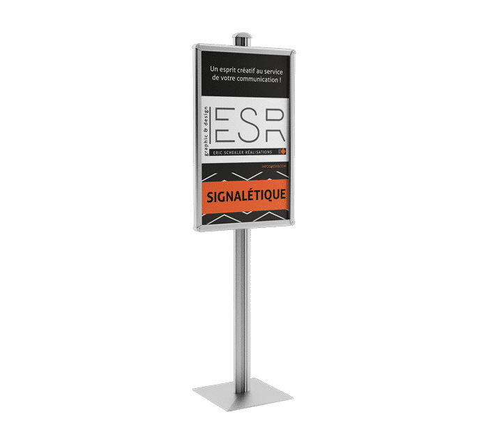 Pour répondre à tous vos besoins d'aménagement pour une Exposition ou un Salon, ESR vous propose une gamme complète de stands portatifs. Stand parapluie, modulaires, portables, pliables, totem, pop up, banner et roll up, kakemonos, Presentoir, comptoir, impression photo grand format, affiche grand format ...