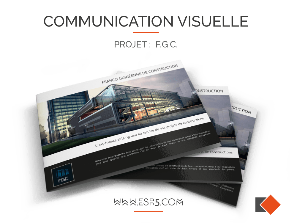 Conception et impression de communication visuelle – Paris